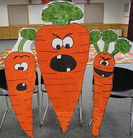 Beyond the Book Storytimes: Creepy Cardboard Carrots