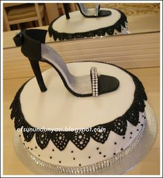 shoes cake-look barbi!