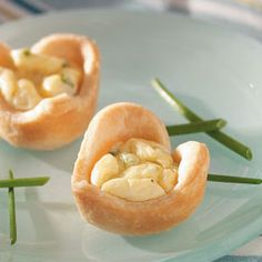 Blue Cheese Tarts