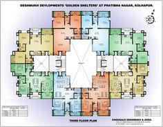 8 Units Per Floor 1060 1121 Sf Hospital Plan Studio Apartment