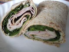 healthy food wraps