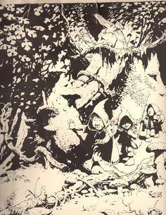 Frank Frazetta Cartoons   Mashup do dia: Frank Frazetta X Senhor dos Anéis