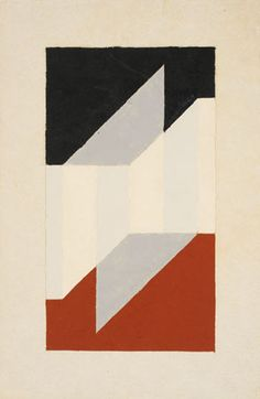 Untitled Abstract, 1946  Josef Albers