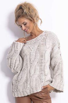 Baby Knitting Patterns, Knitting Designs, Crochet Patterns, Knit Fashion, Womens Fashion, Cable Sweater, Sweater Weather, Knit Crochet, Cool Style