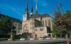 luxemburg kathedrale unserer lieben frau im Luxemburg Reiseführer http://www.abenteurer.net/3803-luxemburg-reisefuehrer/