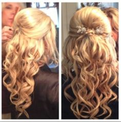 Cute prom hairstyle or formal ✨