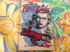 Reduced to clear The Red Rods Vintage Books, Unique Jewelry, Handmade Gifts, Red, Fictional Characters, Etsy, Craft Gifts, Old Books, Hand Made Gifts