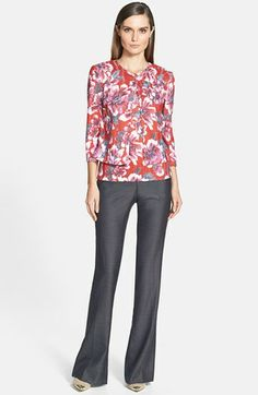 luxe floral business casual