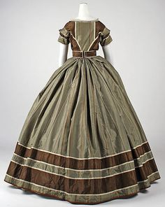 Evening dress ca. 1866