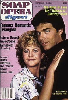 ATWT Steve and BetsySoap Opera Digest  1983