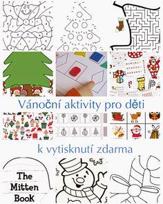 Vánoční pracovní listy pro malé děti k vytisknutí zdarma | thebulletpointkids Thing 1, Childrens Christmas, Winter Crafts For Kids, Montessori, Activities For Kids, Diy And Crafts, Diagram, Crafty, Art