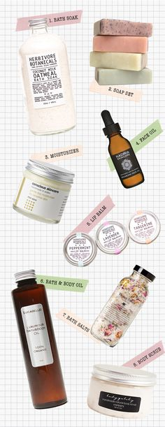 Inspired by natural beauty products