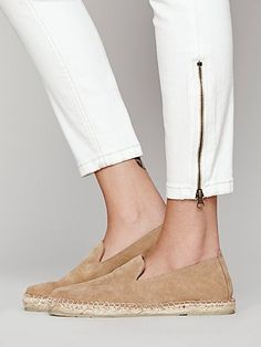 Free People - Canyon Espadrille sand suede