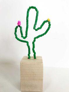 Knutselen met strijkkralen: Maak je eigen cactus bloempot of flamingo