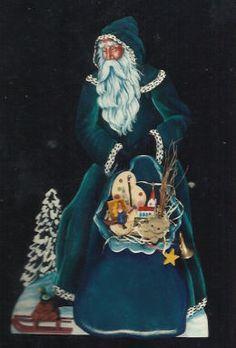 Father Christmas Art | Medieval Father Christmas - Pipka Ulvilden