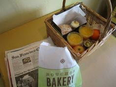 #bouchon bakery delivered to your front porch - cottages of #napa valley