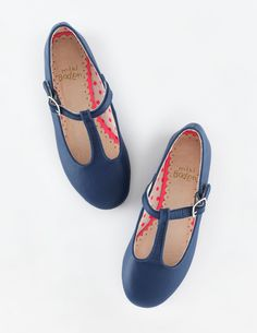 Mini Boden T-Bar Flats. #BacktoSchool