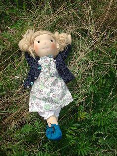 waldorf doll, lalka waldorfska