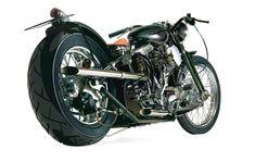 Free Motorcycle Vector #freevector #vectorgraphics #vector