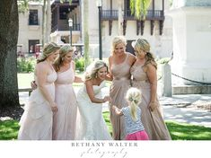 White Room Wedding Photographer Bride and Bridemaids in St Augustine