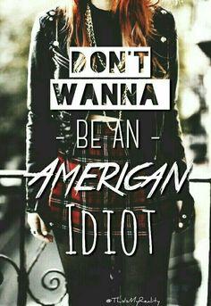 Love this edit of Green Day lyrics