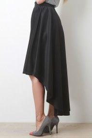 Black High Low Maxi Skirt @ Urban Originals $25 LOVE IT