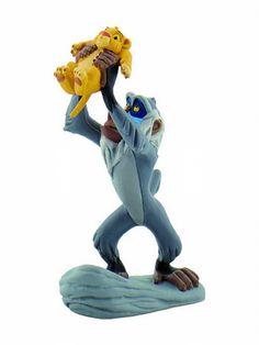 Figurines #Disney du fabricant de figurines Bullyland #figurine #roilion #rafiki #simba