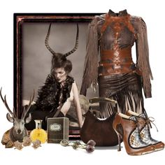 """With Hair Like This..."" by mary-rt on Polyvore"