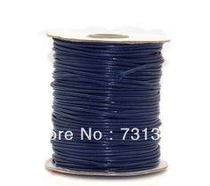 Cheap cotton necklace cord, Buy Quality cotton cord necklace directly from China cotton baby bedding sets Suppliers:   Free Shipping 1 roll(180M) Dark Blue Waxed Cotton Cord 1mm for Shamballa  Bracelet/ Necklace WholesaleProducts