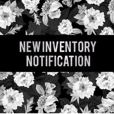 """please like other """"new inventory"""" post. like to be notified when new inventory arrives.   xo, jess  instagram • @flowersandgray snapchat • @flowersandgray  suggested user • 3x party host Other"""