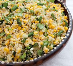 Corn and Quinoa Bowl - Annabel Langbein – Recipes Healthy Cooking, Healthy Eating, Cooking Recipes, Quinoa Bowl, Zucchini Quinoa, Quinoa Recipe, Quinoa Salad, Vegetarian Recipes, Healthy Recipes