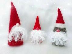Felt Christmas, Christmas Tree Ornaments, Felted Wool, Wool Felt, December, Holiday Decor, Handmade, Felt Christmas Trees, Wool Felting