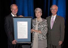Rita Bornstein Receives the 2012 E. Burr Gibson Lifetime Achievement Award.