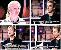 """Because he dreams the same dreams as us. 