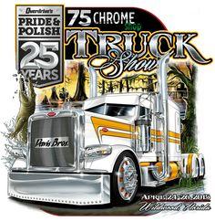 Custom Big Rigs, Custom Trucks, Big Rig Trucks, Cool Trucks, Trucker Quotes, Truck Tattoo, Truck Signs, Truck Art, Peterbilt Trucks