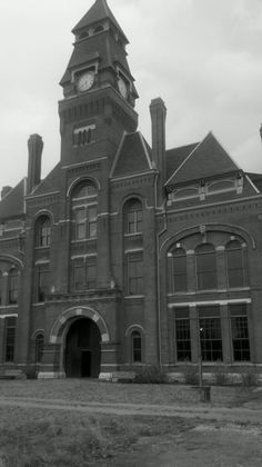 Pullman factory administration building.