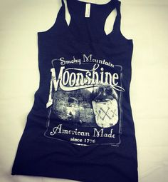 Vintage Moonshine Whiskey Smoky Mountain American by TeesXsseries