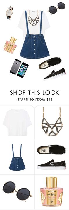 """""""Untitled #433"""" by creece-massoudi ❤ liked on Polyvore featuring Vince, Lulu Frost, WithChic, Vans, Acqua di Parma, Ted Baker and FingerPrint Jewellry"""