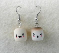 Such a cute idea! Just need some earring things from michaels, bakeable clay and sharpie fine tip!