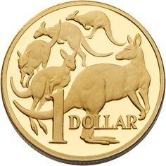"Australian 1 dollar coin - The ""Aussie"" Australian Money, Australian People, Sell Coins, Money Notes, Proof Coins, Dollar Coin, World Coins, Rare Coins, Coin Collecting"