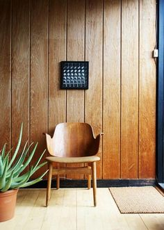 HANS OLSEN, Shell chair, 1957 for Bramin Møbler, Denmark.