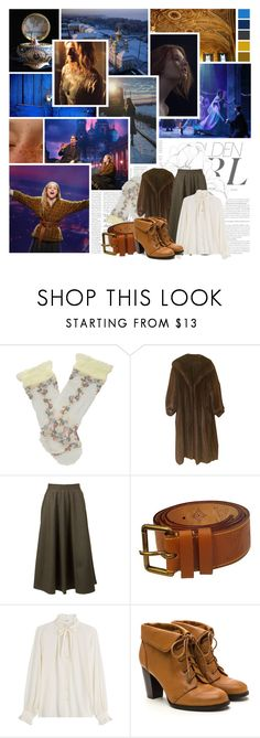 """""""Anastasia (Broadway) // Once Upon A December"""" by auntiewhispers ❤ liked on Polyvore featuring Victoria Beckham, Murphy, Trasparenze, Yves Saint Laurent, Louis Vuitton and Closed"""