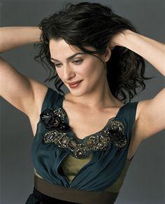 Rachel Weisz, a DW wearing deep softened fabric