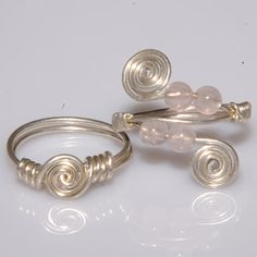 Have made a few of this style. By far, wire wrapped rings are MY VERY  thing to make...