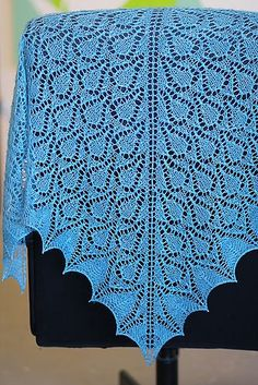 Ravelry: Raindrop Shawl pattern by Renee Strouts