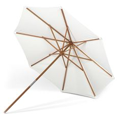 The Catania Umbrella will add simple charm and contemporary style to your outdoor arrangement.