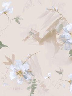 Blue Impression Floral Wallpaper, SBK25162