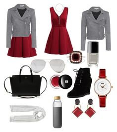 """50 Shades of Grey"" by warrengiaina on Polyvore featuring IRO, Chanel, MICHAEL Michael Kors, Lacoste, Sunny Rebel, Marni, W. Britt, Effy Jewelry, Edward Bess and Soma"