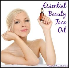Essential Beauty Face Oil with Essential Oils
