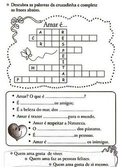 ATIVIDADES DE EDUCAÇÃO RELIGIOSA                                                                                                                                                      Mais Sistema Solar, Social 1, Moral, Respect Activities, Kids Bible Activities, Fun Math Activities, Sight Word Activities, Religious Education, Human Values